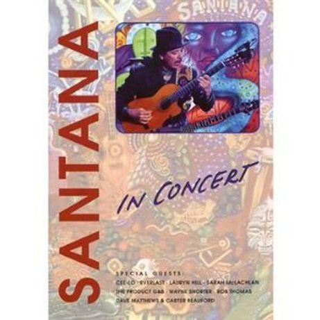 """Santana """"In Concert"""" DVD"""