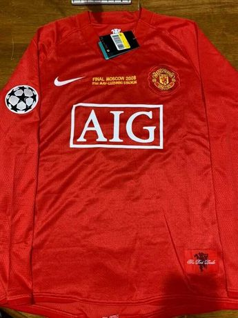 Camisola Manchester United Ronaldo Final UCL 2008 (Tamanho M)