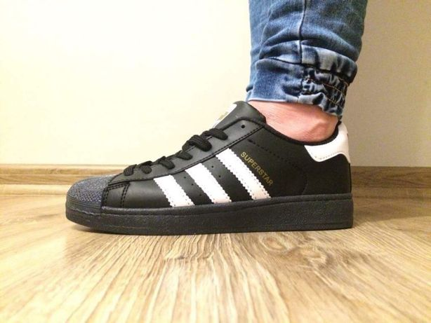 Adidas Superstar. Rozmiar 36,37,38,39,40,41. Kolor czarny
