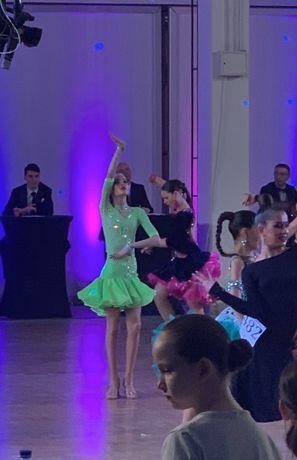 Платье латина для бальных танцев 135-155