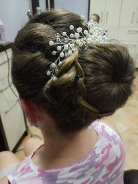 ozdoba do włosów, ślubna, srebrna perełki białe