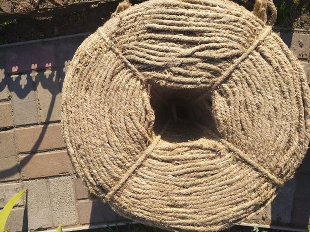 Шпагат канат веревка льняная 8мм