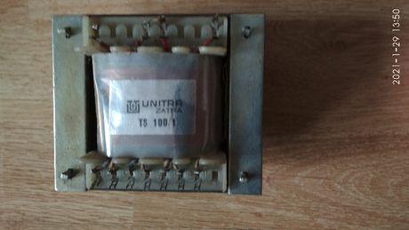 transformator sieciowy firmy UNITRA ZATRA typu TS100/1