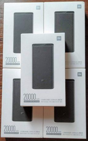ОРИГИНАЛ! Xiaomi Mi Power Bank 3 Pro 20000 mAh PLM07ZM Black VXN4245CN
