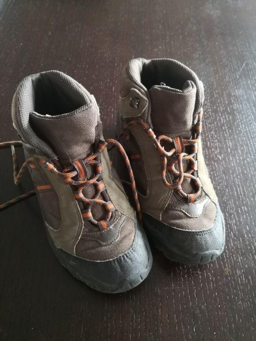 Buty trekingowe Quechua dla chłopca rozmiar 35 Gdańsk - image 1