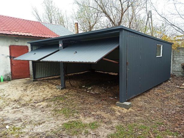 Garaż blaszany Blaszak 6x5 w kolorze