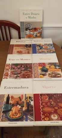 Vendo livros de culinária portuguesa