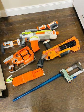 Nerf zestaw pistoletów