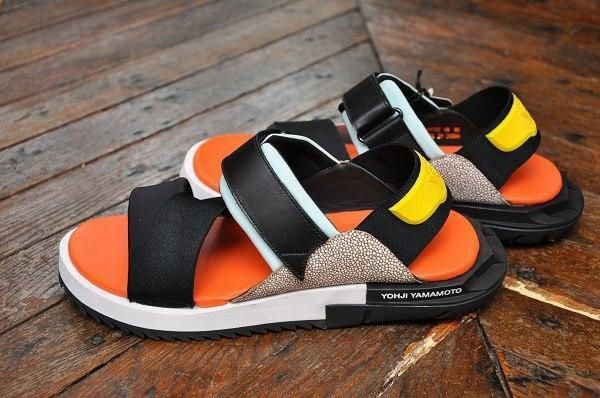Сандалии в стиле Adidas Y-3 Yohji Yamamoto мужские