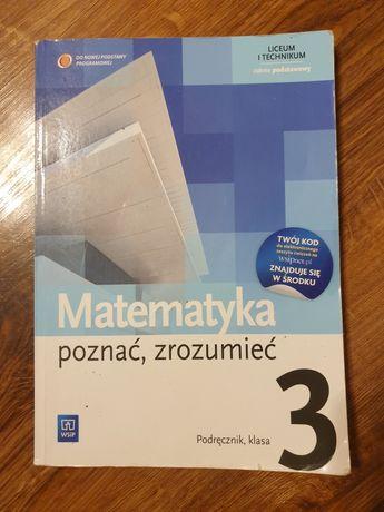 """Podręcznik do matematyki """"Poznać, zrozumieć 3"""""""