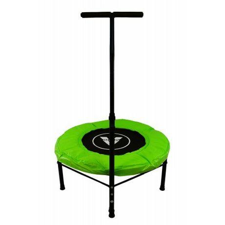 Фітнес-батут на пружинах, 102см, зелений