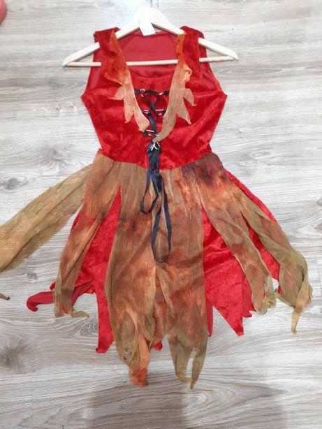 Sukienka- strój karnawałowy, na bal przebierańców
