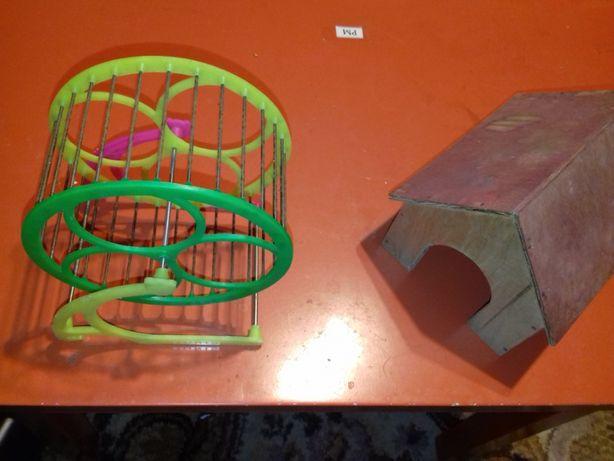 domek dla myszy chomik karuzela , kołowrotek dla myszy , chomika