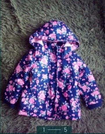 Продам курточку парку для девочки 92 размер