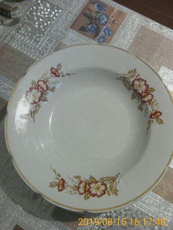 5 тарелок глубоких.Дружковский ф.з.20 гр.