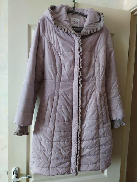 Женская Демисезонная куртка курточка пуховик пальто