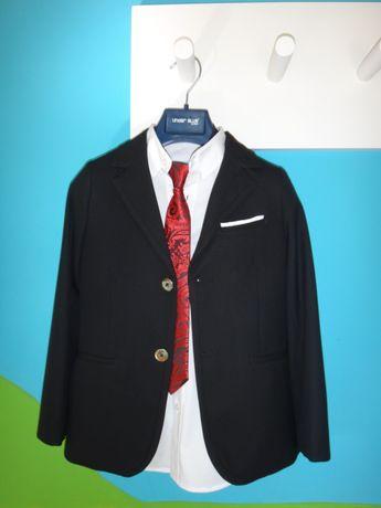 Fato+Camisa+Gravata UNDER BLUE - 6-8 anos
