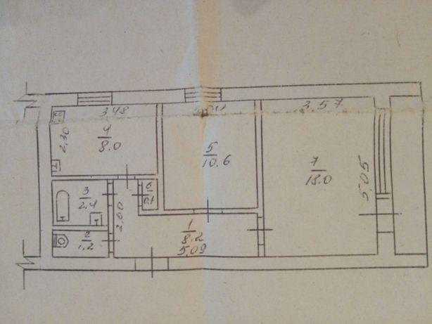 Продам 2 кімнатну квартиру в с. Будище, Черкаського району