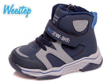 Кожаные деми ботинки 25р 16 см Weestep