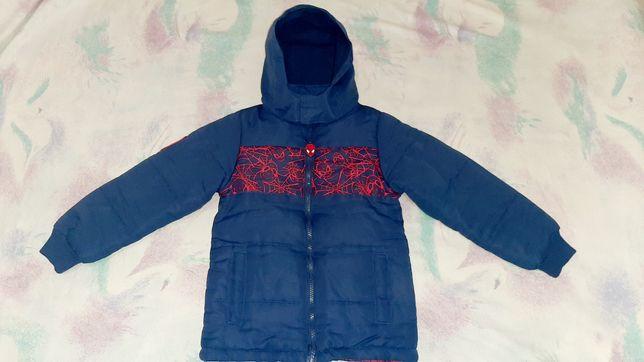 Демисезонная куртка курточка Spider-Man
