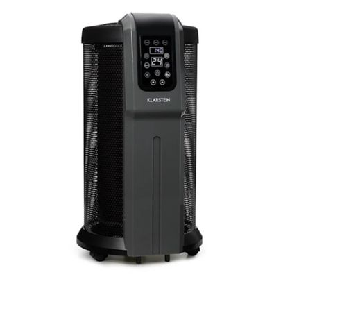 Grzejnik elektryczny 360° 2200W termostat pilot Klarstein NOWY