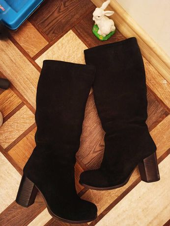 Ботиночки с натуральной замши