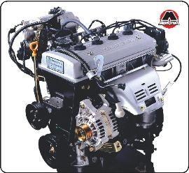Geely ck Двигатель