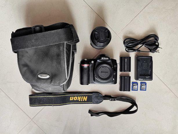 Nikon D50 + objectiva, com embalagem original (em bom estado)