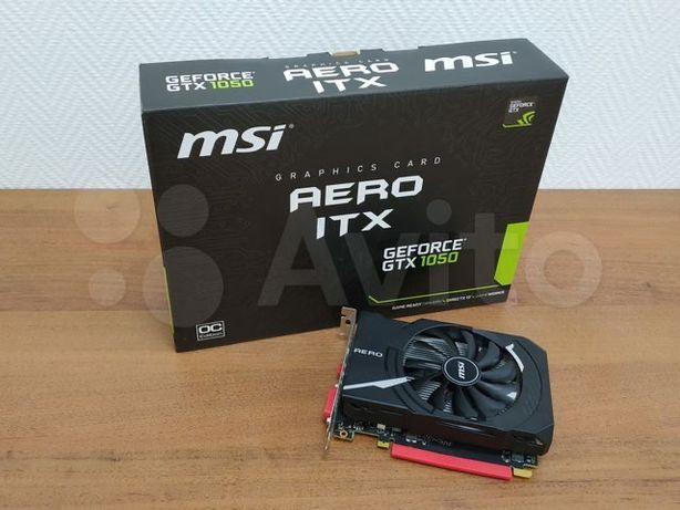 Видеокарта MSI GeForce GTX 1050 AERO ITX 2G OC