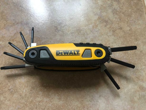 Dewalt DWHT70264 набір ключів Torx 8 штук з США ОРИГІНАЛ