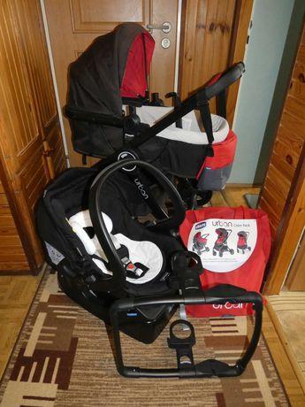 Wózek Spacerówka Gondola 5w1 CHICCO URBAN + FOTELIK Z BAZĄ