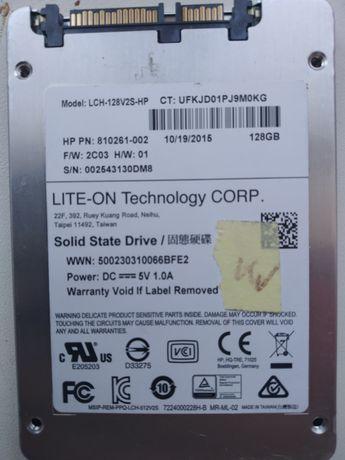 Ssd жёсткий диск Lite-on 128gb, практически не использовался.