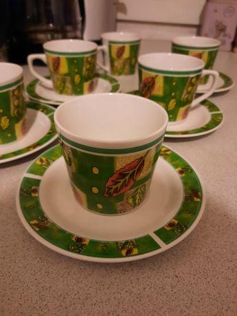 Zestaw filiżanek do kawy lub herbaty