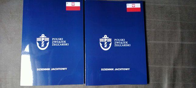 Dziennik jachtowy rejs polski związek żeglarski pzż sygnowany