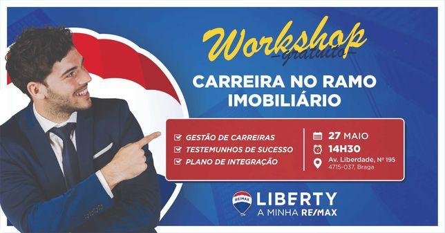 Workshop Gratuito - Carreia no Ramo Imobiliário
