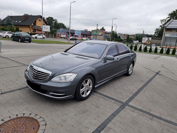 Mercedes S-Klasa W221 LONG 5.5Benzyna 2006r ZAMIANA