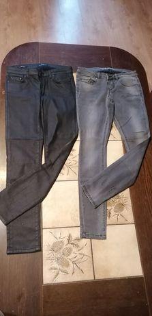 Spodnie jeans jak nowe  6szt firmowe