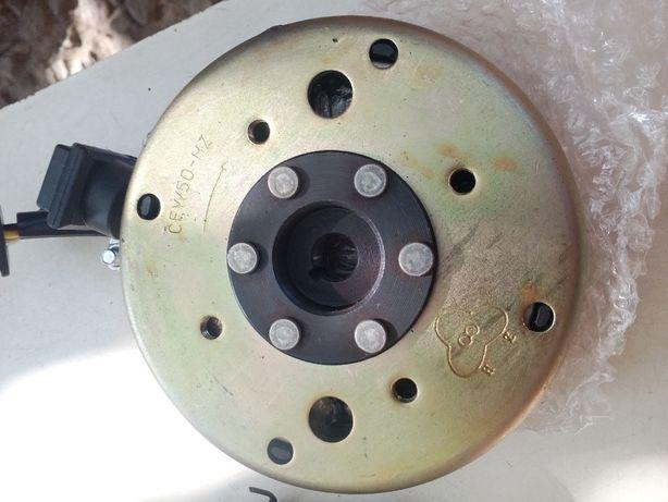 зажигание ЯВА 634 (под 6 вольт) 60 ватт