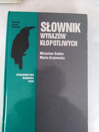 """=SŁOWNIK Wyrazów Kłopotliwych""""Mirosław Bańko.Maria Krajewska"""