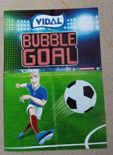 Caderneta cromos futebol Vidal Buble Gum Euro 2016