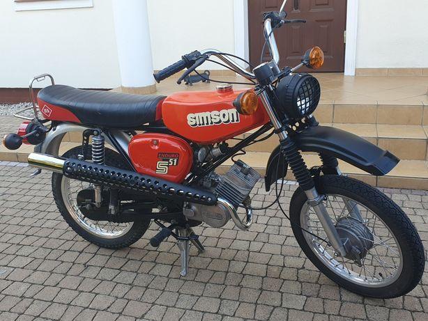 Simson s51 ENDURO, 1982 rok