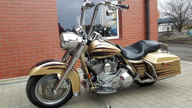 Harley Road King 2003 rok Screamin Eagle zamiana na customa