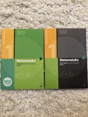 Matematyka 1 zeszyt ćwiczeń i podręcznik zakres podstawowy Pazdro