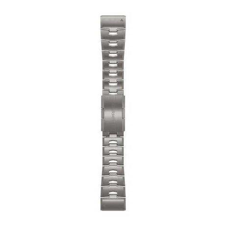 Oryginalna bransoleta Garmin Fenix 6 / 5 - 22mm - tytanowa - Nowa