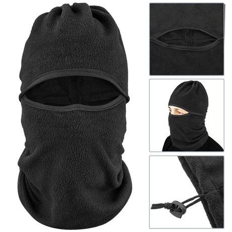 GORRO tipo máscara de pescoço e facial para motos ou montanhismo
