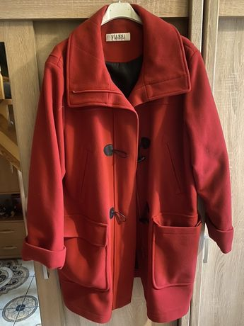 Płaszcz czerwony