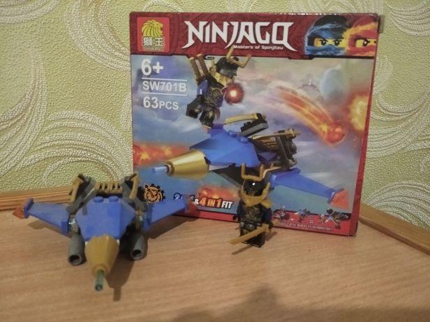 Лего Ниндзяго истребитель самурая Х П.И.В.В.Ж