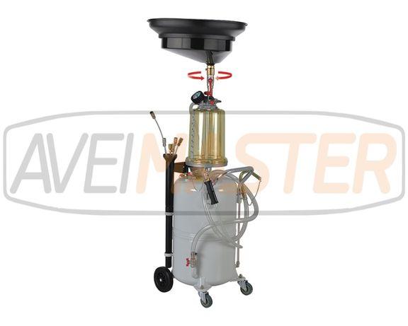 Extractor de Oleo 90 LT Metalico c/Aparador e 6 varetas REF. 804550