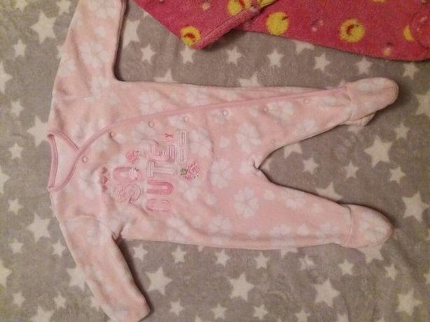 Пакет одежды Человечки пижама слип 12 18 next george флис коттон