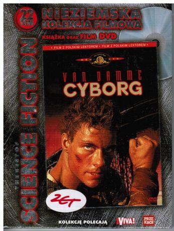 dvd CYBORG, 22 tom The Best of Science Fiction, nowe, zafoliowane
